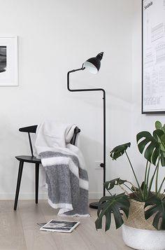 Via The Design Chaser   Minimal   Scandinavian   Black and White