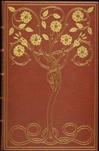 Design - Book cover - Art Nouveau - La Belle au Bois Dormant