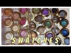 Milani Bella Eyes Eyeshadow Swatches! - YouTube