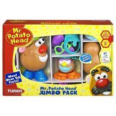 Amazon.com: Mr. Potato Head Jumbo Pack: Toys & Games