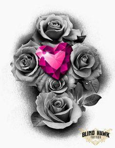 Rose daimond