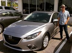 Huge congratulations to Geoffrey Watson on the purchase of his brand-new 2016 Mazda3 i Grand Touring! Beautiful car! #ztmotors #mazdafwb #YouMatter