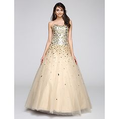 2017+TS+Couture®+Formal+Evening+Dress+Ball+Gown+Sweetheart+Floor-length+Tulle+with+Sequins+–+USD+$+134.99