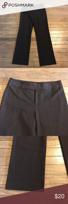 Nine West Chocolate Brown Pants Deep brown dress pants in excellent condition. Worn a couple times and from a smoke free home. Nine West Pants Trousers