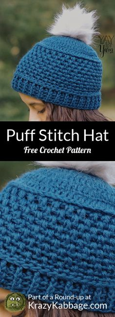 Hurray it's finally Fall! I''m so excited about crochet season! Crochet Adult Hat, Crochet Toddler, Crochet Yarn, Free Crochet, Crotchet, Crochet Wallet, Bobble Stitch, Twist Headband, Crochet Projects