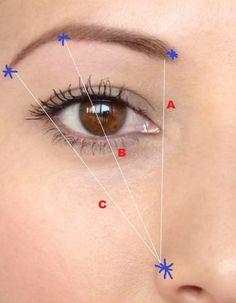 I saw this in a magazine when I was a teenager and this is how I have shaped my eyebrows ever since!: Creating the Perfect Eyebrow Shape for your Face