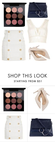 """""""Simply"""" by watermelon-lane on Polyvore featuring MAC Cosmetics, M. Gemi, Balmain, Chloé and River Island"""