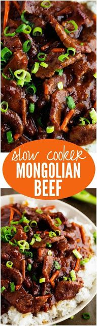 SLOW COOKER MONGOLIAN BEEF | Mom's Food Recipe