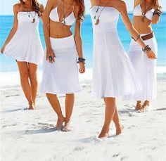 Housweety-Robe Jupe Maillot de bain Bikini - Sexy Pareo- Robe de plage charme pour femmes en Blanc-Taille L Housweety, http://www.amazon.fr/dp/B00FRB8EAU/ref=cm_sw_r_pi_dp_L.fXsb03QNJTY