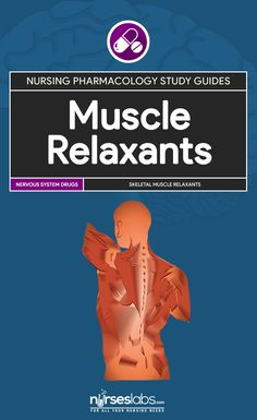 Muscle Relaxants Nursing Pharmacology Study Guide