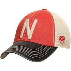 new products 1df99 95b19 Nebraska Cornhuskers Top of the World Offroad Trucker Adjustable Hat - Red