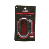 Ace Nail Brush 1 ea by Goody. $7.95. Designed with long, dense bristles for cleaning outer nails and cuticles. Designed with an extra large, rubberized grip for man-sized hands. Durable Bristles. Designed with short, slanted bristles to scrub away grit under nails. Scrub FingernailsDual-Action Durable Bristles Man-siz