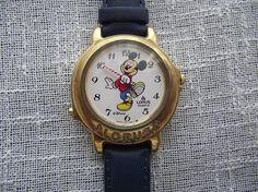 Lorus by Seiko Mickey Mouse The Melody quartz wristwatch