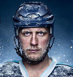"""Kampagne: """"Ich bin ein Freezer"""" — Agentur: Leagas Delaney — Kunde: Hamburg Freezers — Jetzt noch mehr Kampagnen pur im Fischer`s Archiv! www.fischersarchiv.de"""
