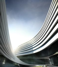 Zaha Hadid Architects.Complejo de viviendas y oficinas. Desde : magazine Zeen http://www.dezeen.com/