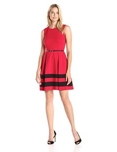 Red dress in amazon commercial air