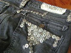 Taverniti Janis 16 Buttons Stretch Skinny Black Denim Jeans womens size 30 x 32 #Taverniti #SlimSkinny
