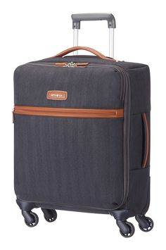 Samsonite Lite DLX Spinner 55cm Midnight Blue