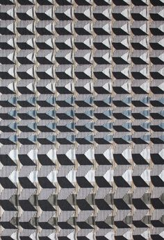 Tricycle Fabric. Tribal Collection. Cotton, Polyester and Acrylic. Margo Selby. Textile Design