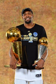 2017 Finals MVP and NBA Champion, Kevin Durant