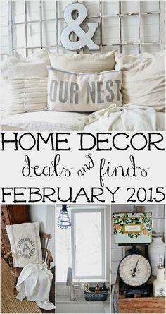 Recent Home Decor Finds – February 2015 –  http://www.nicehomedecor.site/2017/07/31/recent-home-decor-finds-february-2015/
