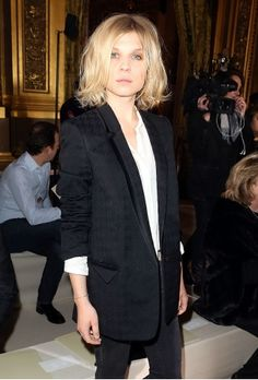 Clemence Poesy Bob Haircut - ok this is it for SS14