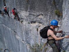 Chamonix Rock Climbing Via Ferrata (NIELS AND I HAVE TO DO THIS!!!)