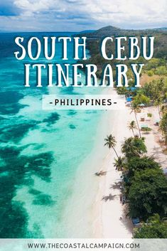 SOUTH CEBU ITINERARY | Adventure Travel Guide for South Cebu, Philippines | Our South Cebu itinerary is a complete guide to the adventure lover's paradise that is Cebu Island. Discover waterfalls, incredible diving and more! #philippines#traveltips #asia #cebu #waterfall