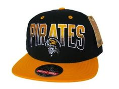 965eaaebdea PITTSBURGH PIRATES 3 Tone Script Retro Old School Snapback Hat - MLB Cap - 2  Tone Black Gold - LIMITED EDITION  Amazon.co.uk  Sports   Outdoors