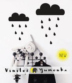 Vinilo Nubes by Yumonka www.yumonka.com
