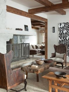 Slopeside chalet in Jackson, WY. Architects Pearson Design Group. On Site Managemen