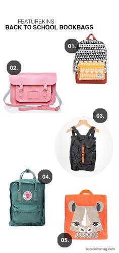 Babiekins Magazine Bookbags