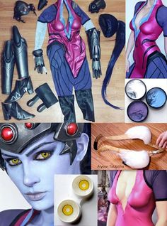 Amazing Widowmaker Cosplay