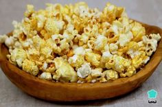 Love popcorn but hate kernels stuck in your teeth? Pop Corn, Best Appetizers, Cauliflower, Snack Recipes, Food And Drink, Health Fitness, Vegetables, Teeth, Hate