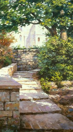 Dmitry Levin - Russian artist \\ St. Mishel.France \ Dmitry and Victoria Levinyh's gallery