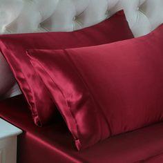 Wein, Seidene Kissenbezüge sind in der Lage, Falten und Haarproblemen vorzubeugen, denn 100%ige #Maulbeerseide ist reich an Protein, um den Kreislauf der Hautzellen zu fördern. Wir bieten Ihnen die #besten, #weichsten, #sanftesten Kissenbezüge aus Maulbeerseide, um Ihnen jede Nacht einen angenehmen Schlaf zu ermöglichen. Von https://www.oosilk.com/de/19mm-silk-pillowcase-housewife-c.html