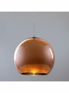 Hanglamp Ball 35 koper, 175 euro, erg mooi