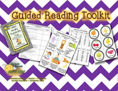 Everything you need to get guided reading started in your kindergarten, 1st, and 2nd grade classroom!