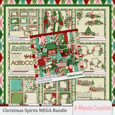 Christmas Spirits MEGA Bundle