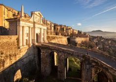 All the information you need to know about the Città Alta in Bergamo city, Italia. Luxury Travel Agents, San Giacomo, Best Spa, Excursion, Italy Travel, Italy Trip, Travel Europe, Travel Destinations, Cool Places To Visit