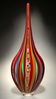 David Patchen This color is Beautiful! – Hobbies paining body for kids and adult Blown Glass Art, Art Of Glass, Stained Glass Art, Fused Glass, Glass Vase, Cristal Art, Glas Art, Glass Figurines, Glass Marbles