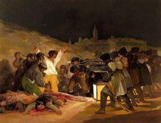 Francisco de Goya - Third of May 1808, 1814 at Museo Nacional del Prado Madrid Spain