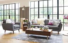 Styling work for DFS by Carole King (deardesigner). Photographs by Andrew Boyd Home Living Room, Home, Living Dining Room, Sofa, Living Room Decor, New Living Room, Open Plan Living Room, Sofa Deals, French Connection Sofa