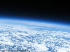 19-year-old student from the UK Kadvort Adam and his friend took a picture of the earth with b / u camera, bought on eBay, a home-made device with GPS-transmitter, a small video camera, a microprocessor and a few solar panels. For this invention it took 40 hours.