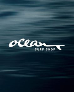 #houseofbranding | Ocean Surf Shop Branding by J. Fletcher Design #logo, have always admired this logo