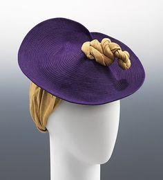 1943 hat via The Metropolitan Museum of Art.