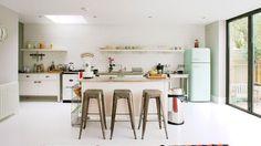 Ga van hard naar huiselijk met de semi-industriële keuken