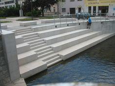 Dotknout se vody - Úprava nábřeží řeky Svitavy - Česká cena za architekturu