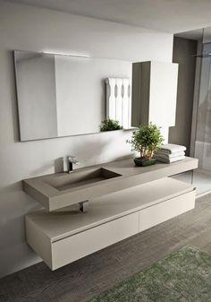 modernos baños de diseño en contemporánea interiorismo