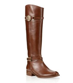 Calista Flat Riding Boot | Womens Boots | ToryBurch.co.uk